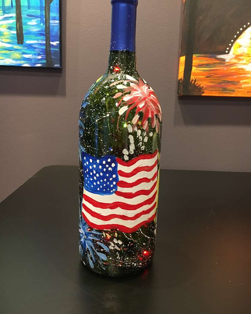 Fireworks Bottle