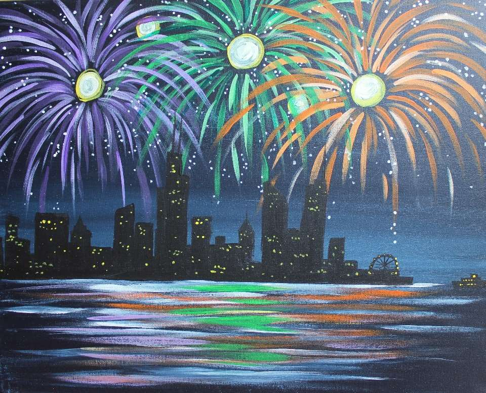 Fireworks Over Chicago