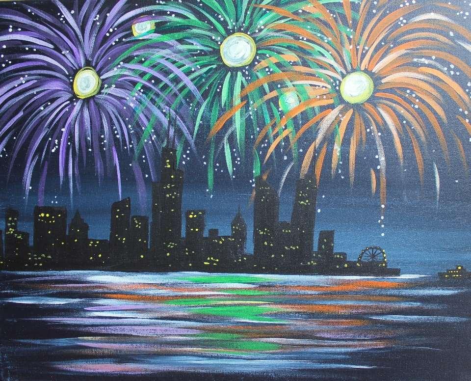 Fireworks Over Chicago