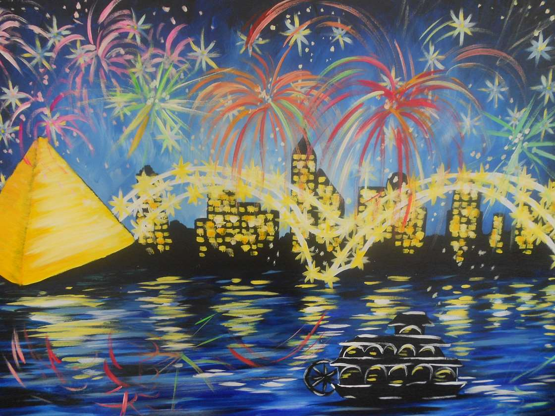 Fireworks Over Memphis