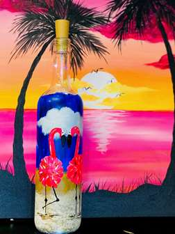 Flamingo Beach Bottle