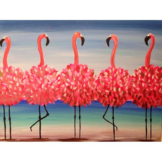 In Studio Event - Flamingo Beach