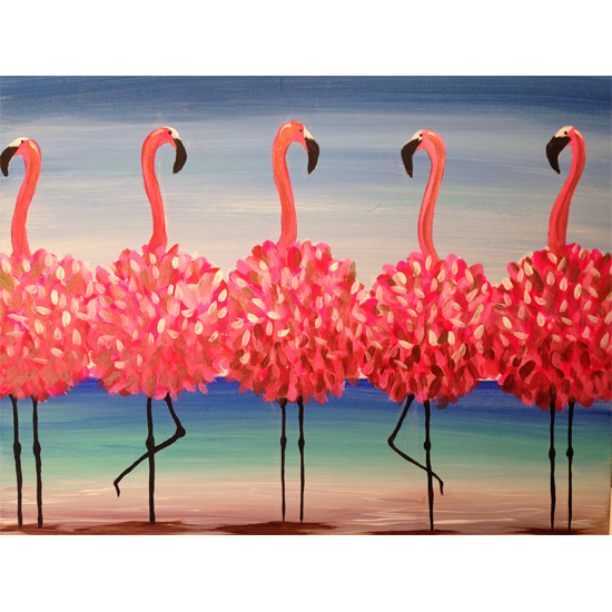 """flamingo beach"""