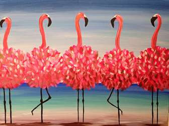 Flamingo Beach