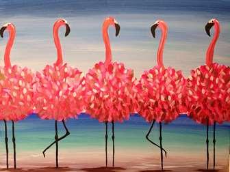 Flamingo Beach