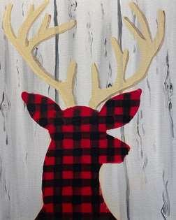 Flannel Deer