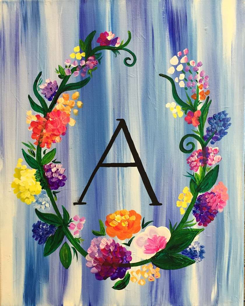 Floral Family Wreath