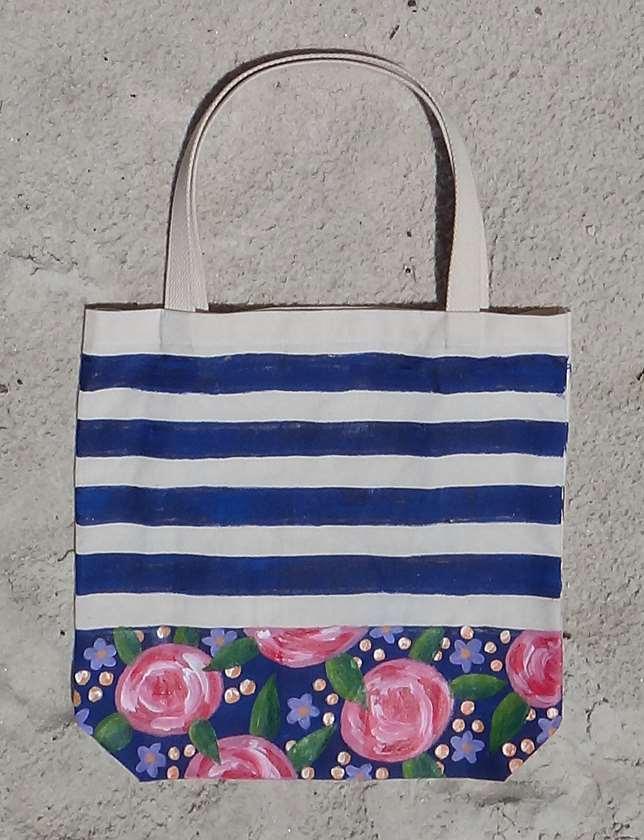 Floral Fantasy Tote Bag