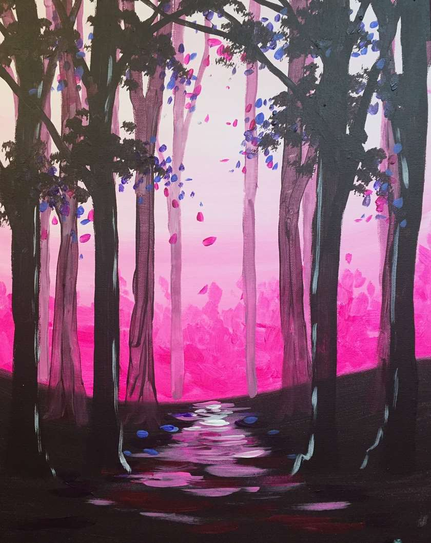 Fluorescent Forest