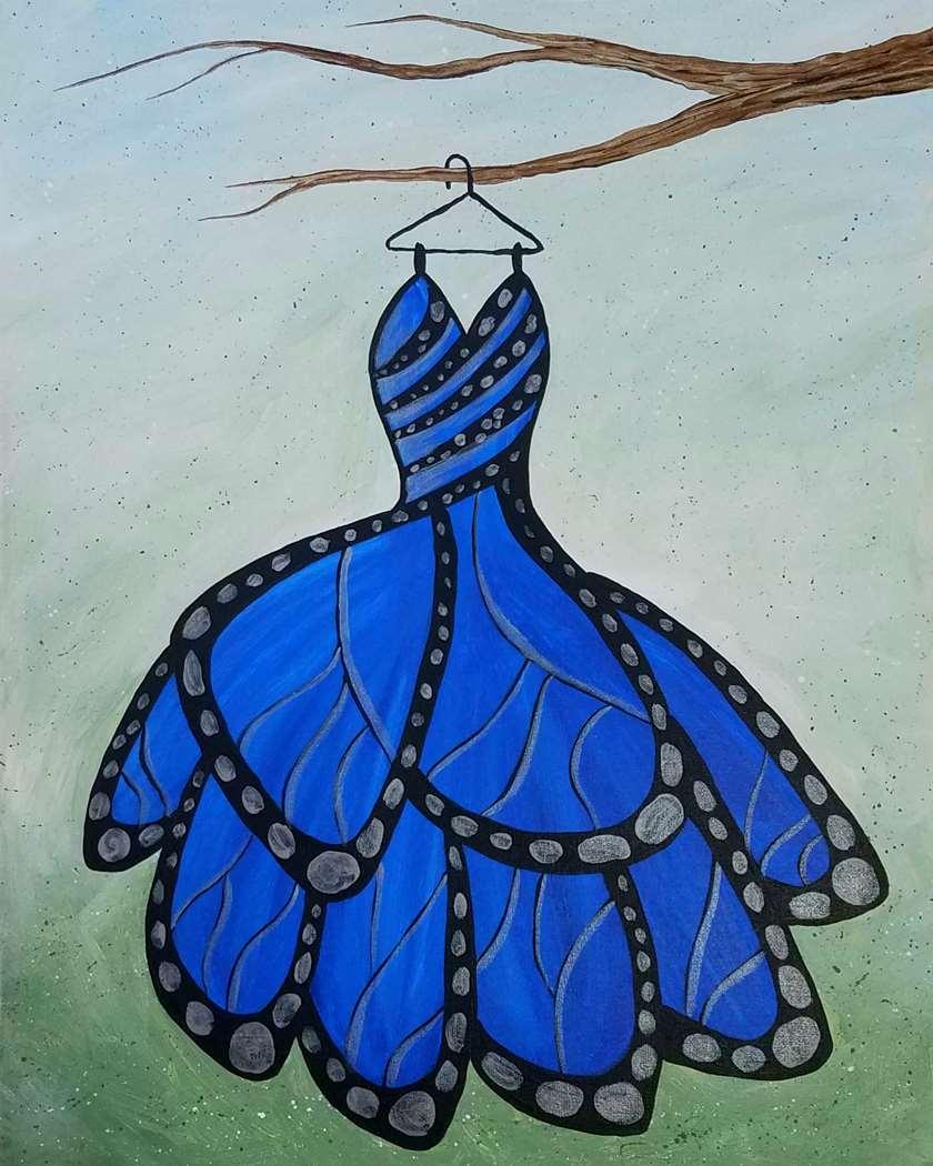 Flutter Dress