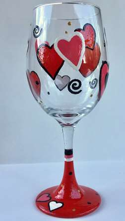 For the Love of Vino Glass Class