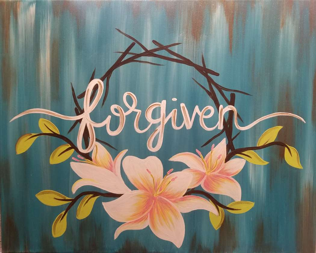 3 HOUR PAINTING ONLY $35!! HAPPY EASTER!!