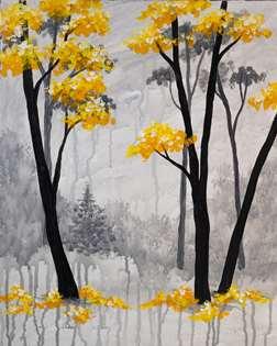 Forêt Noir et Jaune