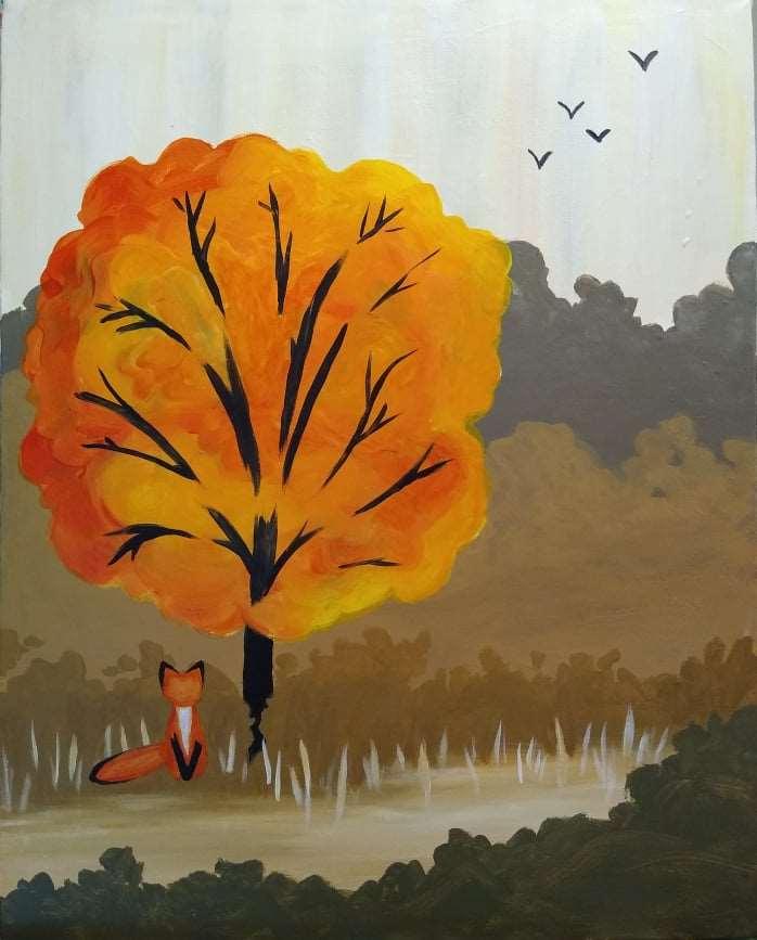 Fox in Fall