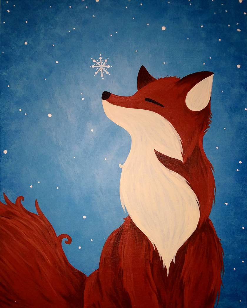 Foxy Winter Delight - In Studio Event - Limited Seating Available