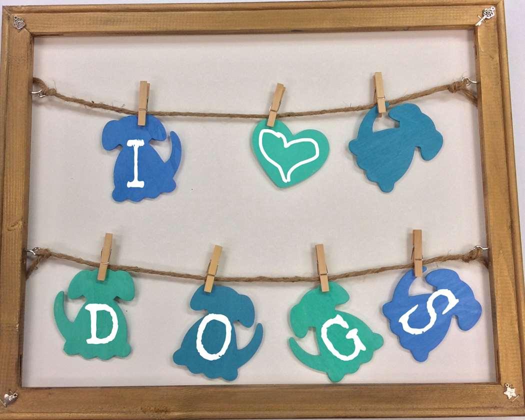 Frame Art: Puppy Charm