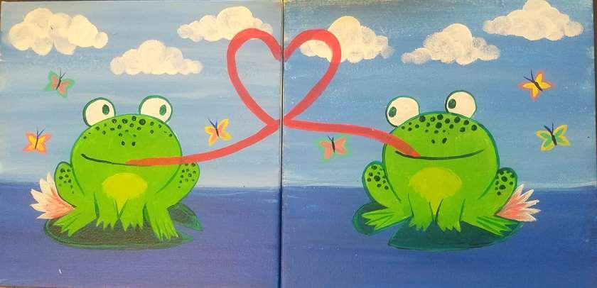 Froggy Kisses