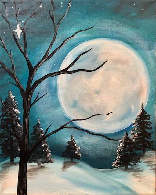 Frosted Moon