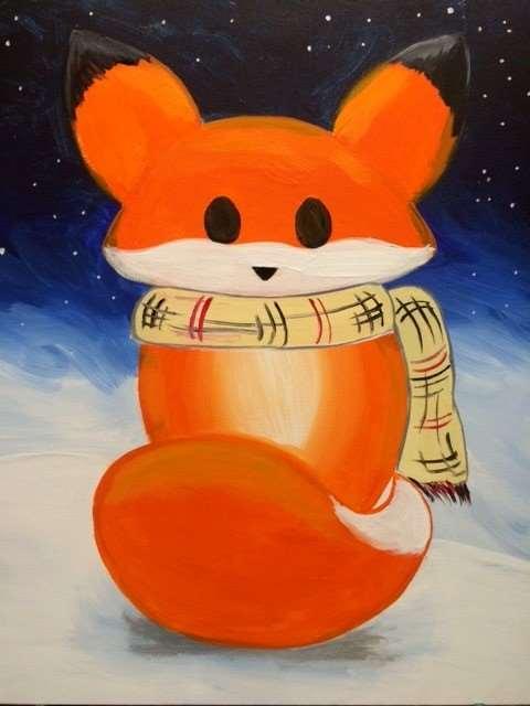 Frosty Fox
