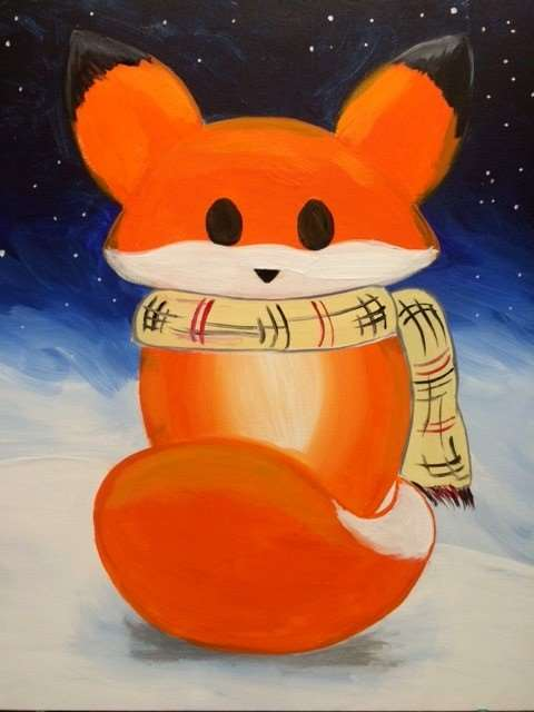 Frosty Fox - Family Day - ages 5 and up allowed, but everyone needs a reservation