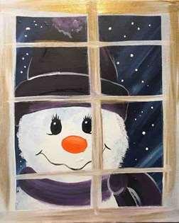 Frosty Visit