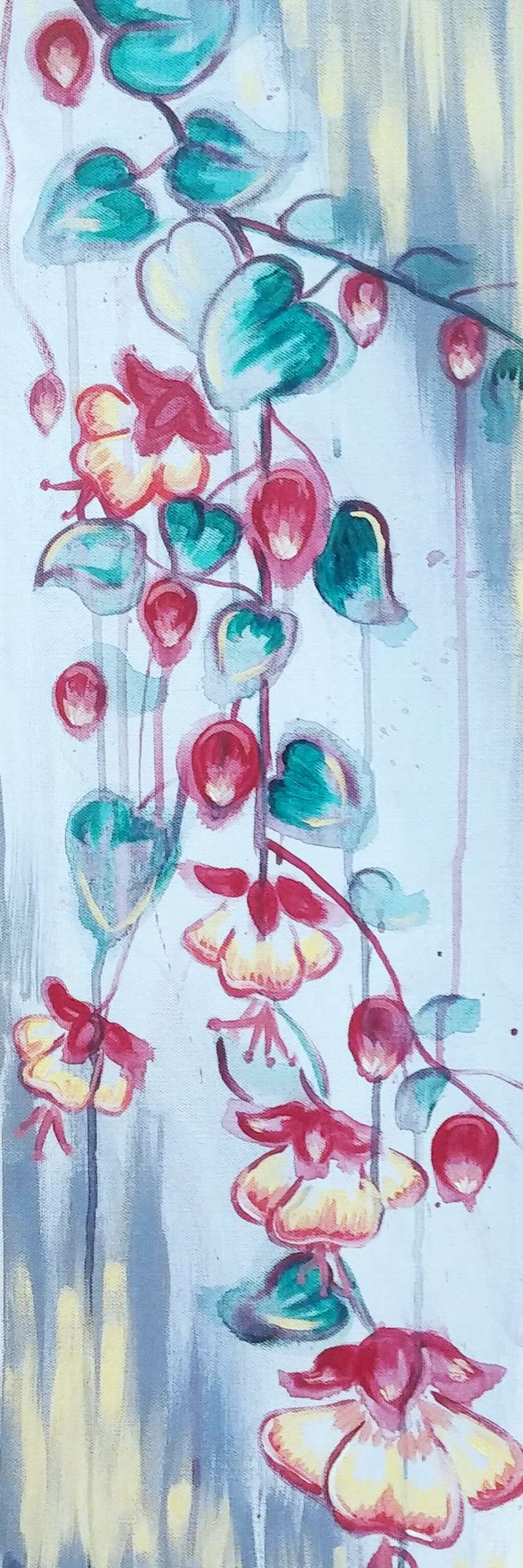 Fuchsia in the Rain