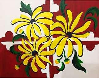Funky Floral Flag