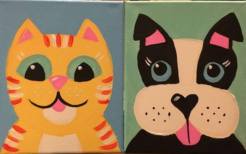 Furry Friends - Petite Pair