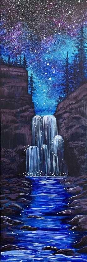 Galaxy Waterfall