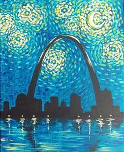 Gateway to a Starry Night