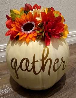Gather Pumpkin Bouquet