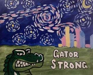 Gator Strong Starry Night
