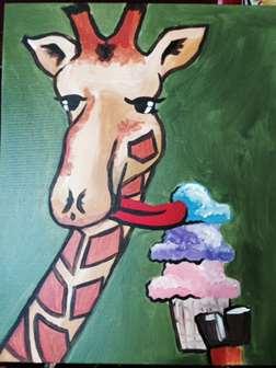 Gelato Giraffe