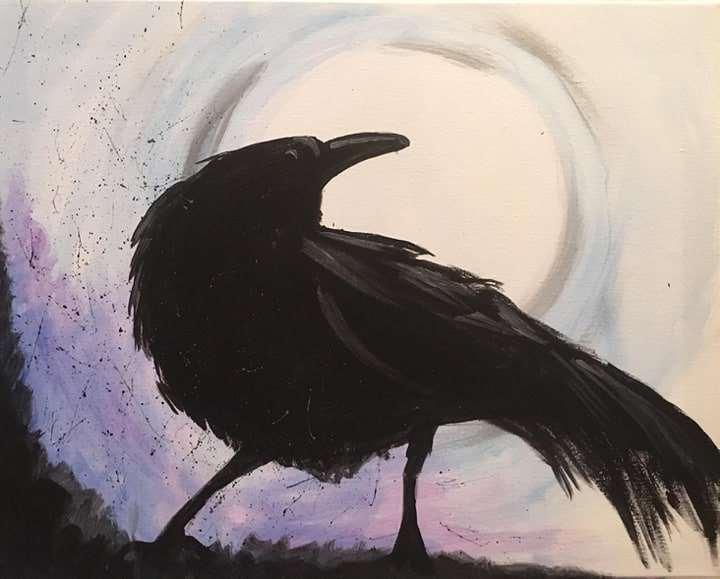 Ghastly Grim Raven