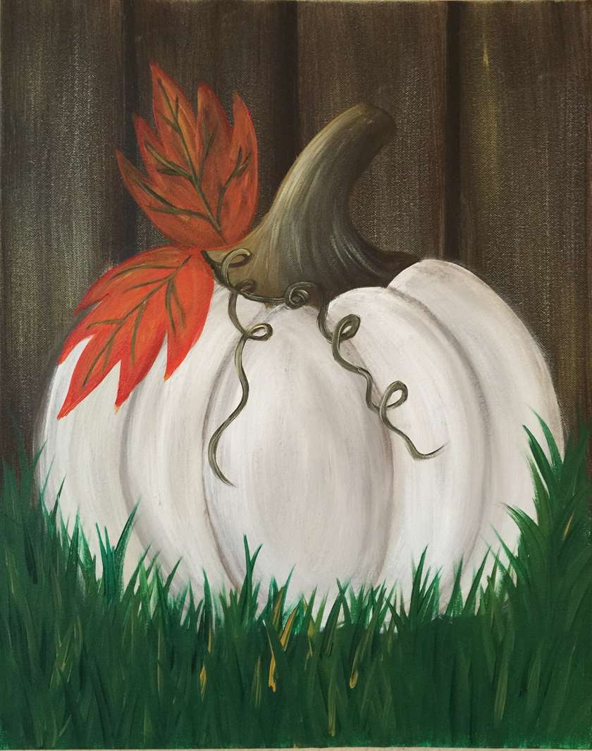 Ghost Pumpkin