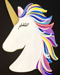 Glamicorn Wooden Cut Out