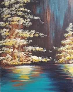 Glimmering Shoreline