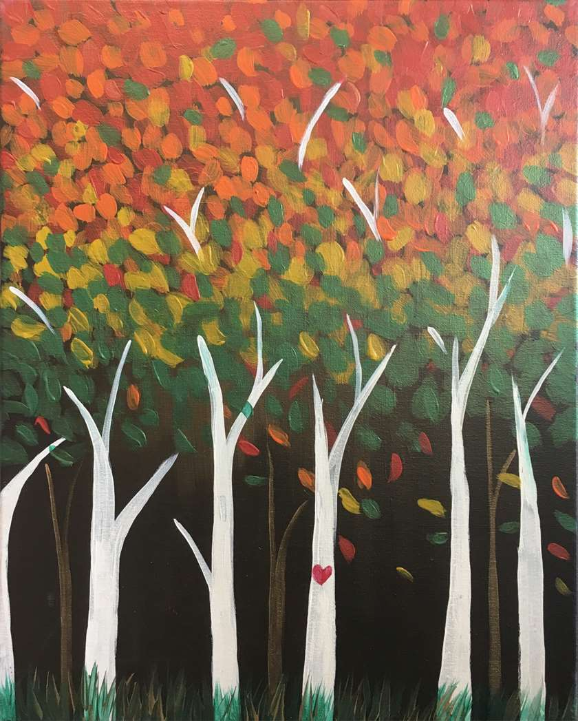 Outdoor Studio All-Ages Event: Glittering Autumn