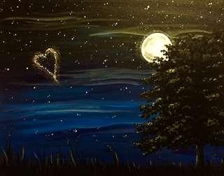 Glittering Evening Enchantment