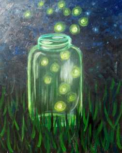 Glowing Fireflies