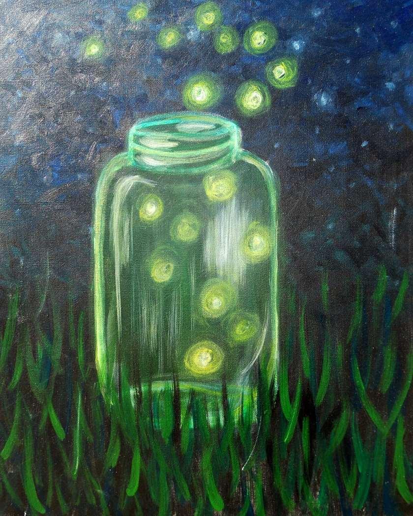 Glowing Fireflies