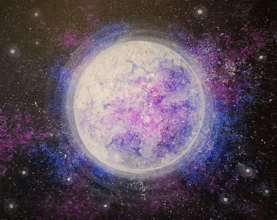 Glowing Galaxy