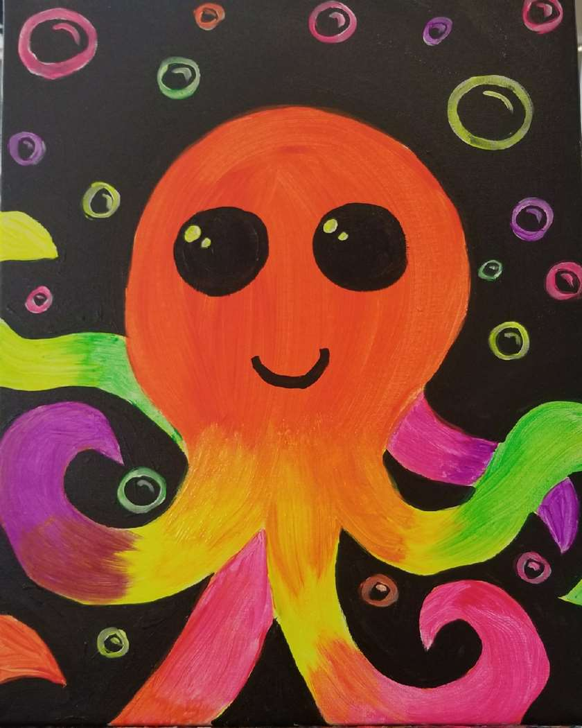 Glowing Octopi