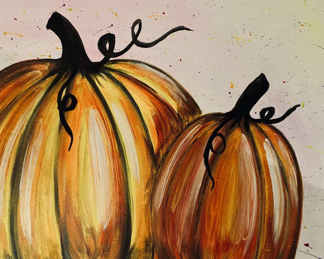 All Ages Glowing Pumpkins - In Studio Event - Limited Seating Available