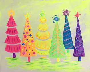 Glowing Vintage Christmas