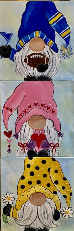 Gnome Sweet Gnomes 10x10 Collaborative