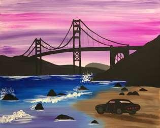 Golden Gate Sunset