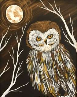 Golden Night Owl