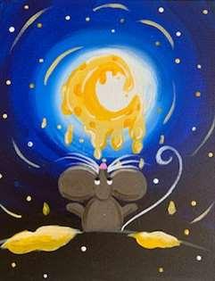 Gouda the Moon!