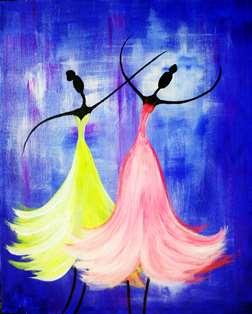 Graceful Dancers